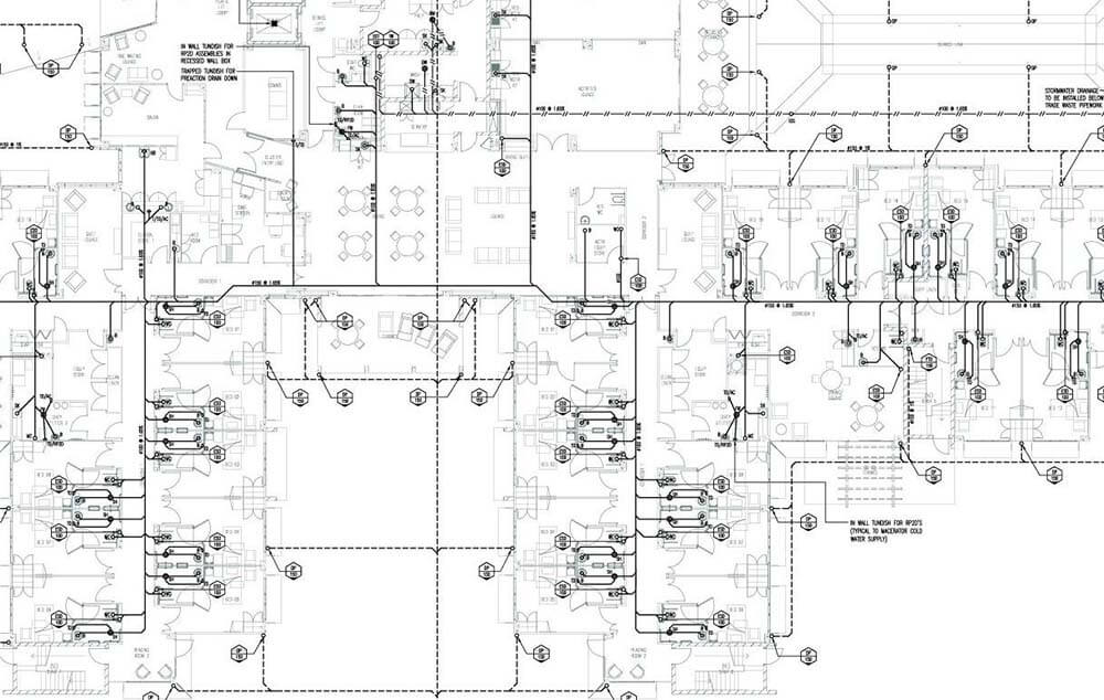 Autocad services 2d outsourcing philippines for Drainage layout for my house