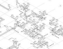AutoCAD Water Schematic